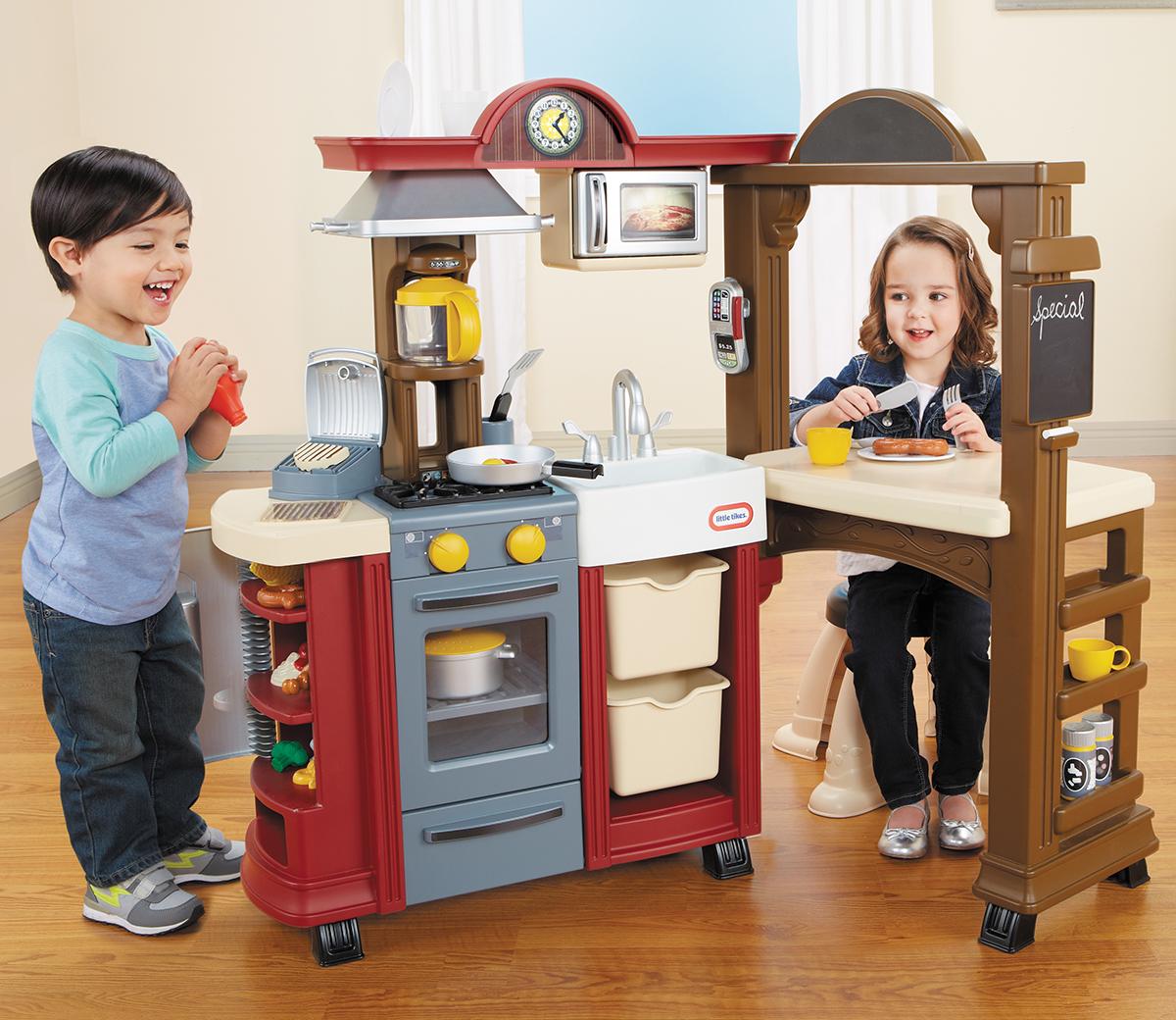 Kitchen Little: Tikes Kitchen & Restaurant (Red