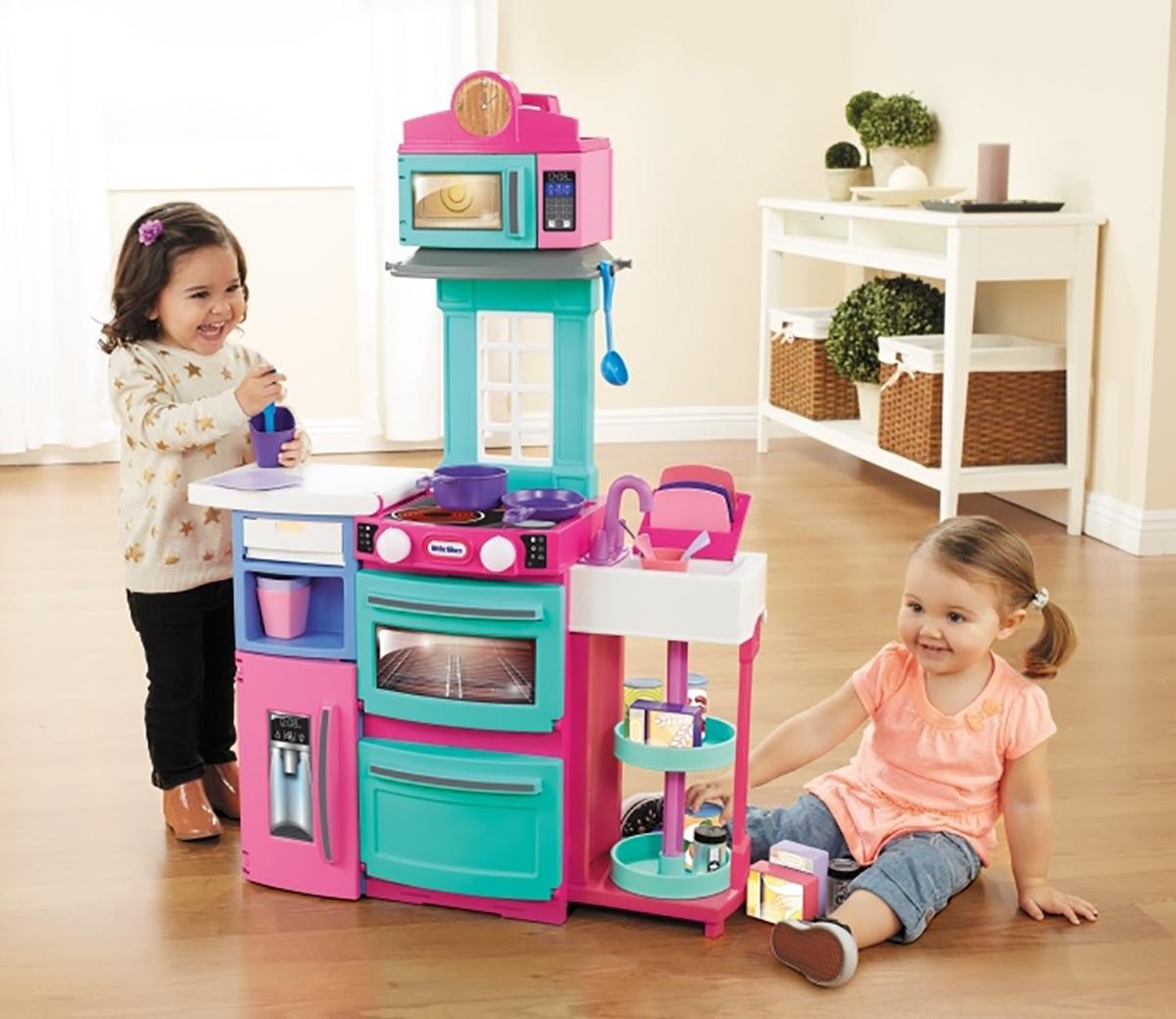 little tikes cook n store kitchen pink rh littletikes co uk little tikes pink kitchen asda little tikes plastic kitchen pink