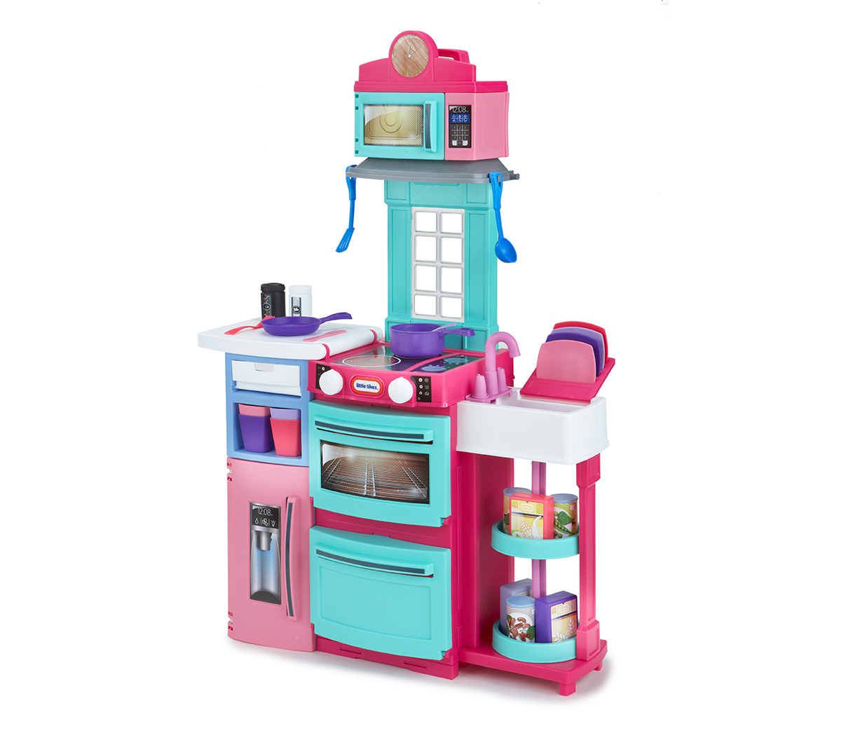 little tikes cook 39 n store kitchen pink. Black Bedroom Furniture Sets. Home Design Ideas