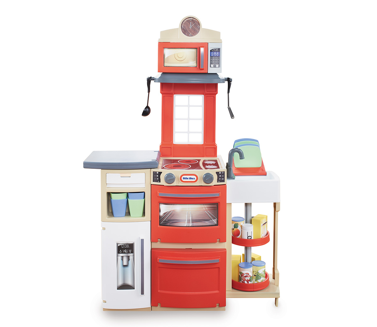 LITTLE TIKES Cook \'n Store™ Kitchen (Red)