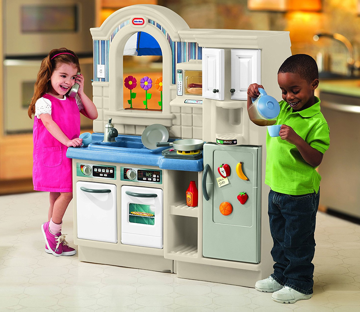 Little Tikes House Replacement Parts : Little tikes inside outside cook n grill kitchen
