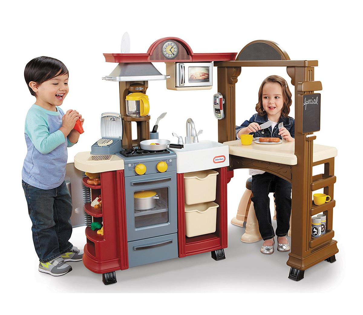 Little Tikes Red Kitchen Restaurant