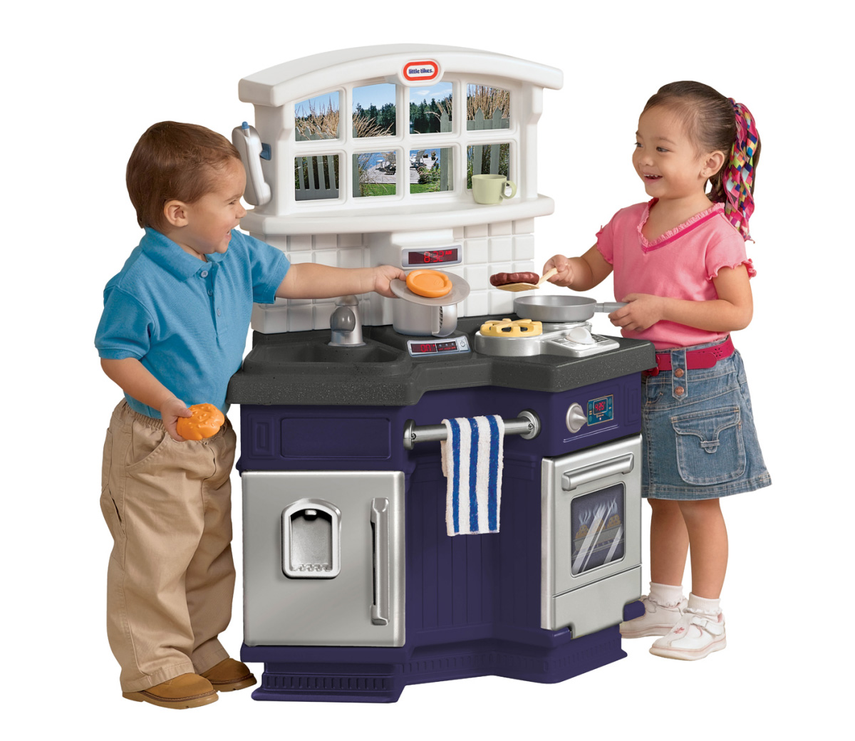 Little Tykes Kitchen: LITTLE TIKES Side By Side Kitchen