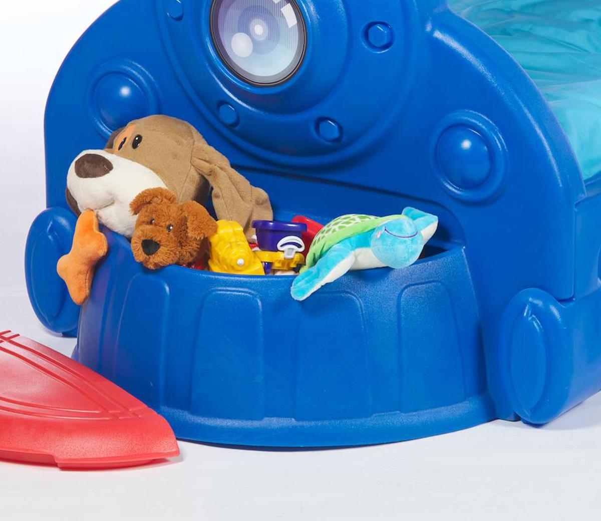 Sleepy Choo Choo Toddler Bed