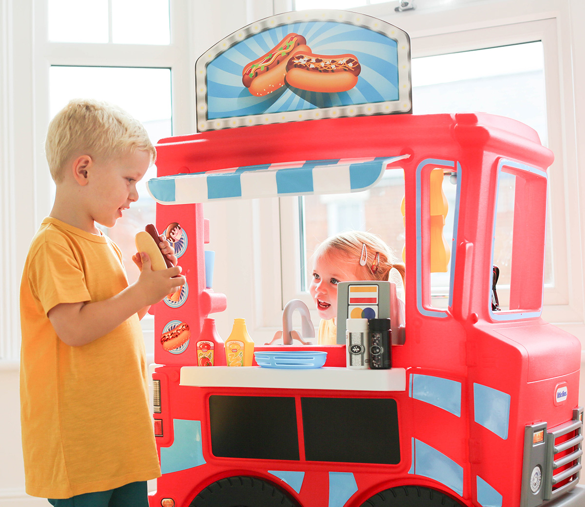 2 In 1 Food Truck Little Tikes