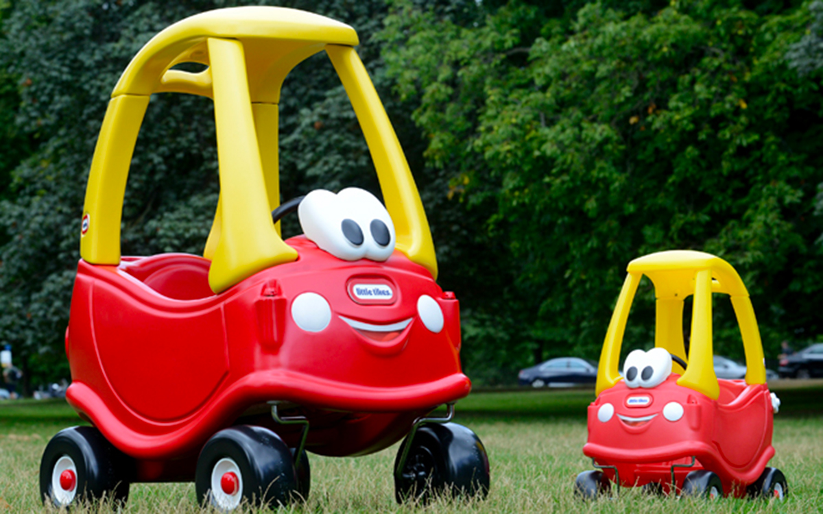 Little Tikes Makes The World's First Giant Cozy Coupe