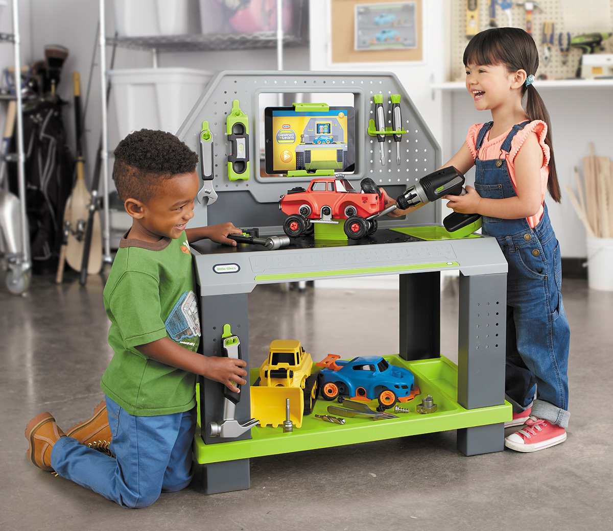 Products little tikes for Little tikes 2 in 1 buildin to learn motor workshop