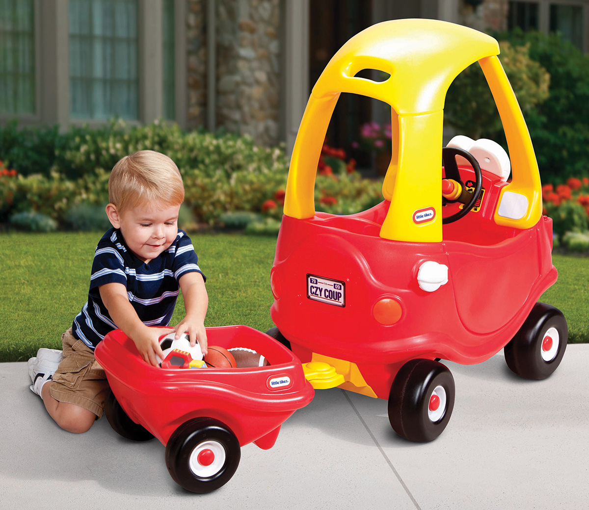 Cozy Coupe® Trailer (Red)