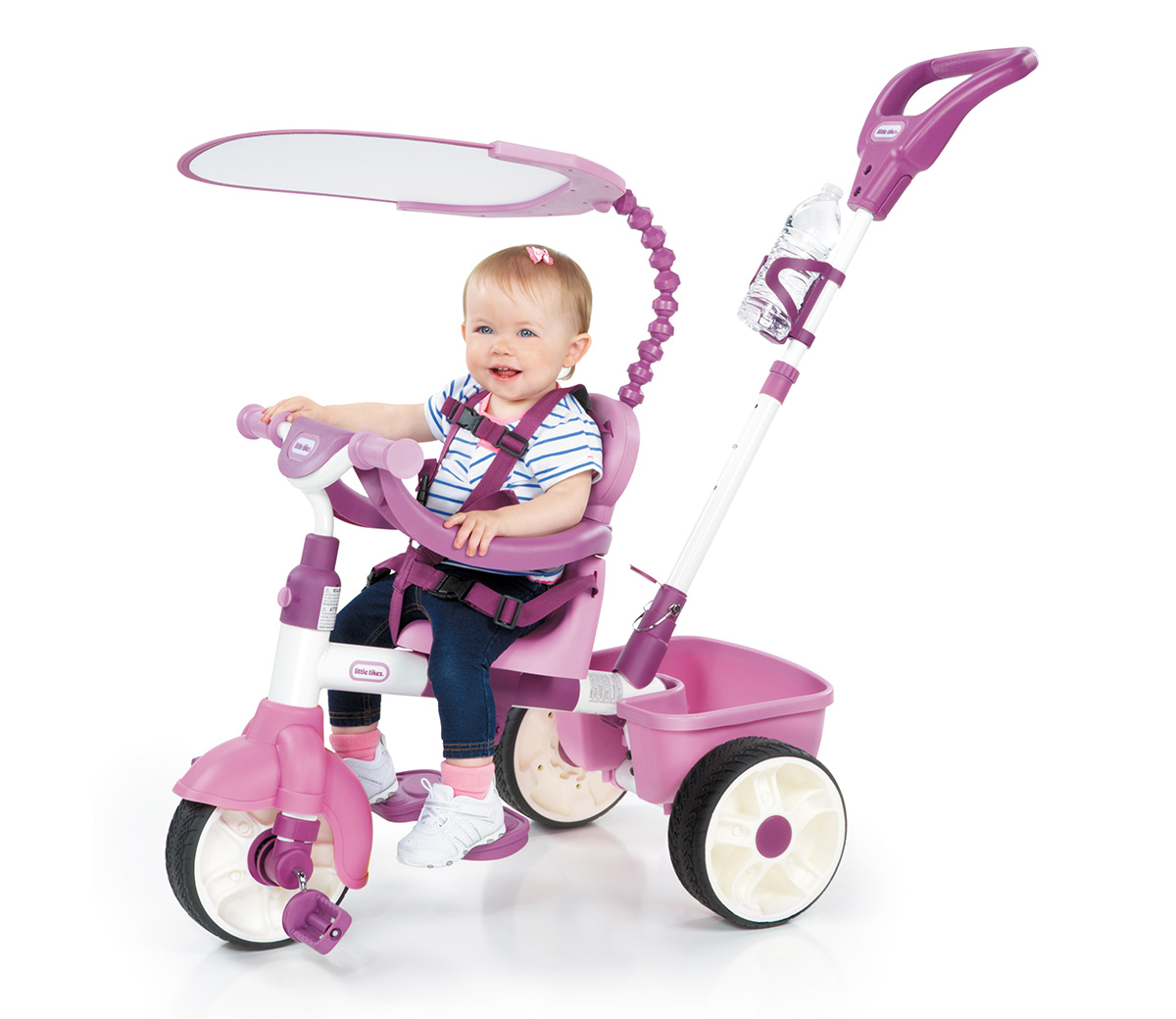 4 In 1 Trike Pink Little Tikes
