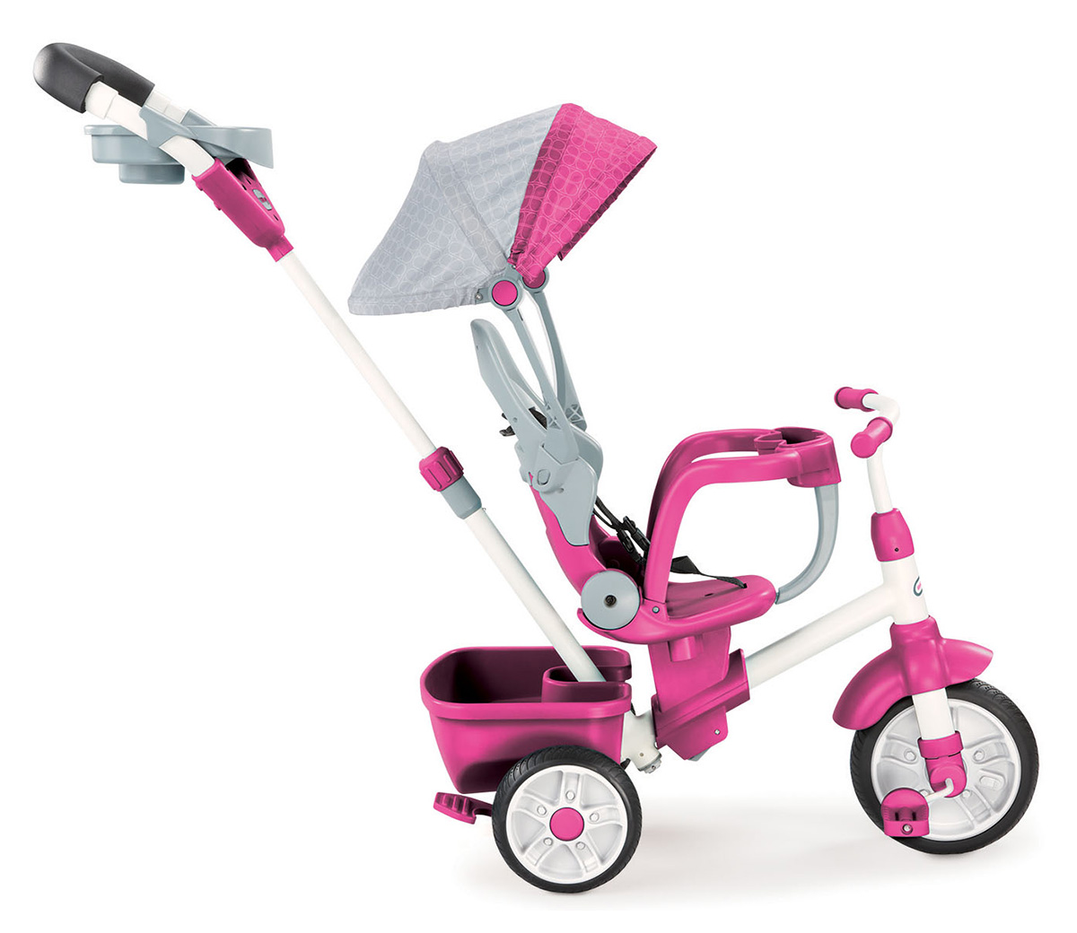 edfd9589f92 Perfect Fit 4-in-1 Trike (Pink) | Little Tikes ™