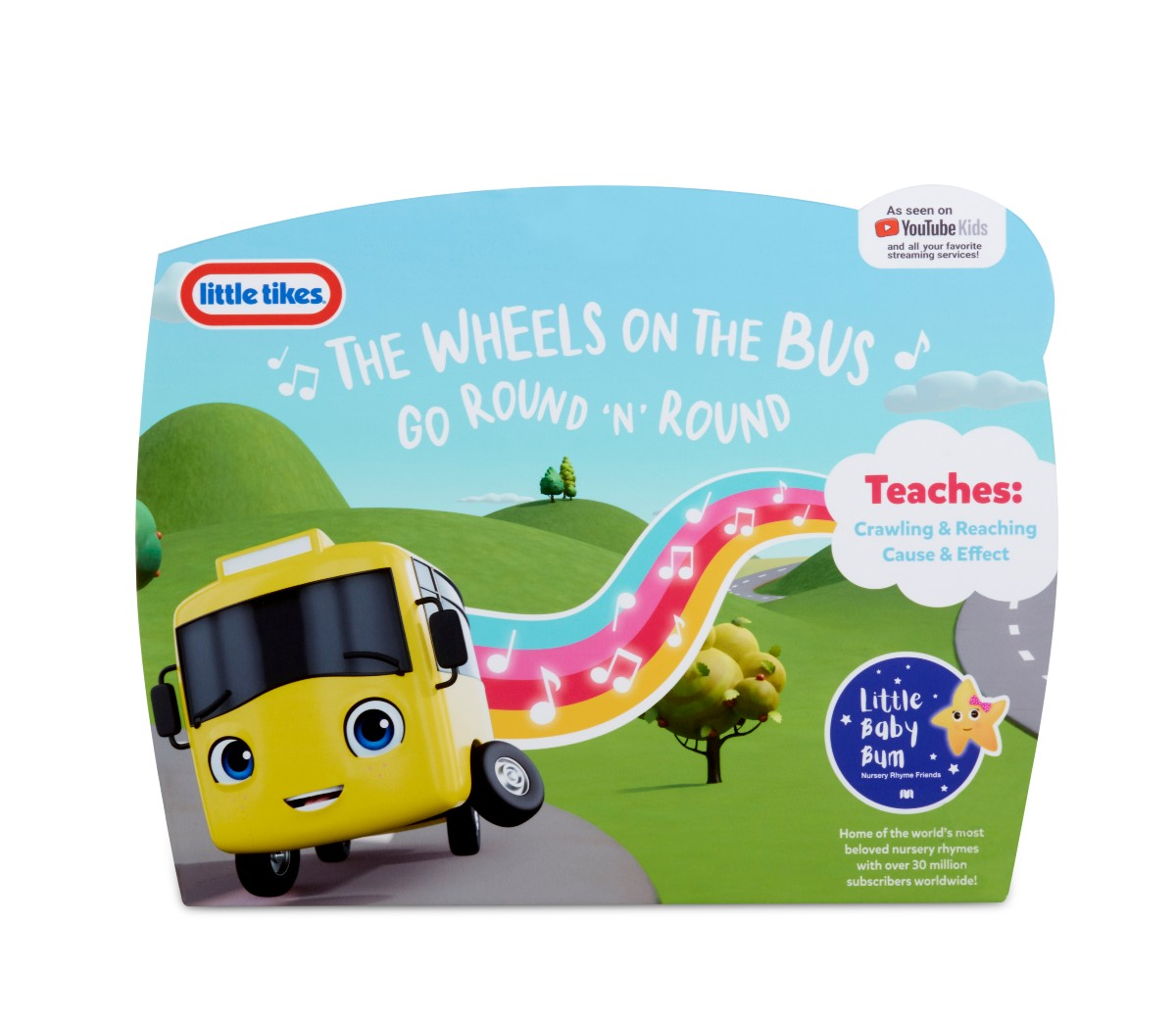 Little Baby Bum Wiggling Wheels On The Bus Little Tikes